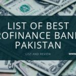 List of Best Microfinance Banks in Pakistan