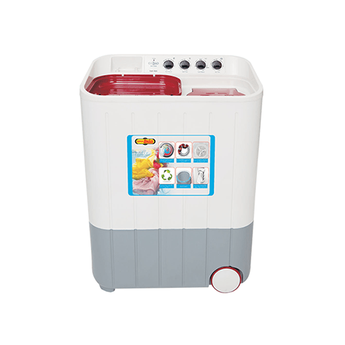 Super Asia 8 KG - Twin Tub Semi Automatic Washing Machine - SA-244
