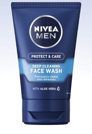 Nivea Men Deep Clean Face Wash